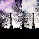 Eiffel Tower in 3 ways